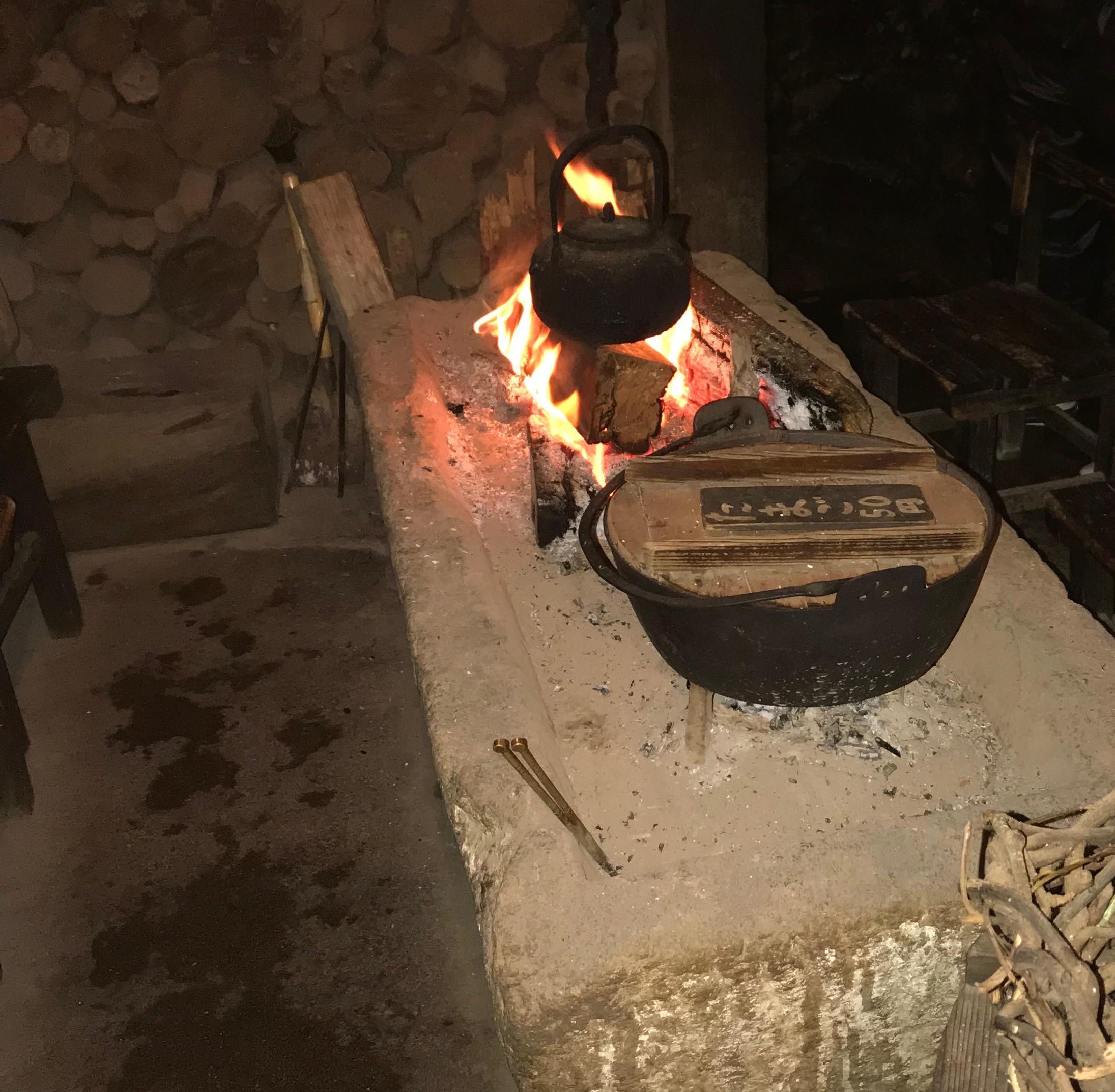 囲炉裏画像