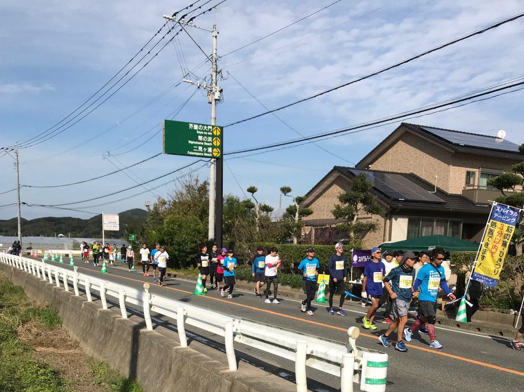 マラソン風景の画像