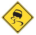 警戒標識の画像