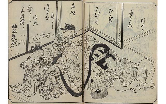 江戸のこたつ画像