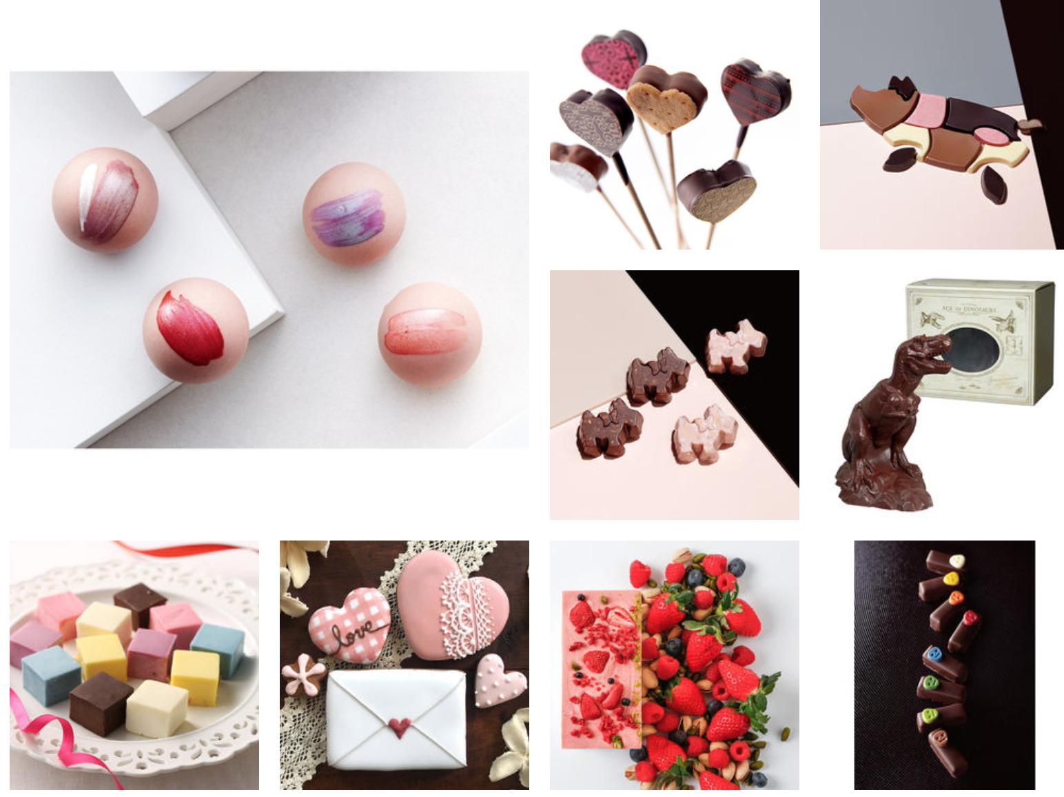 高島屋チョコの画像