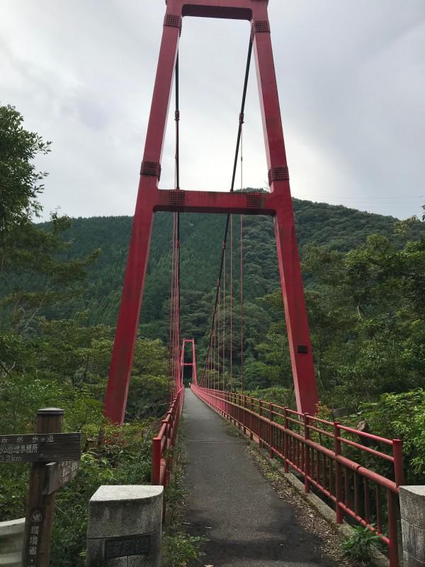 鱒渕ダムの橋